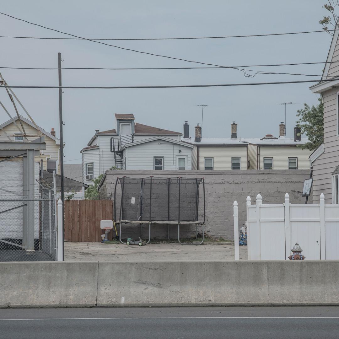 A trampoline in Elizabeth New Jersey
