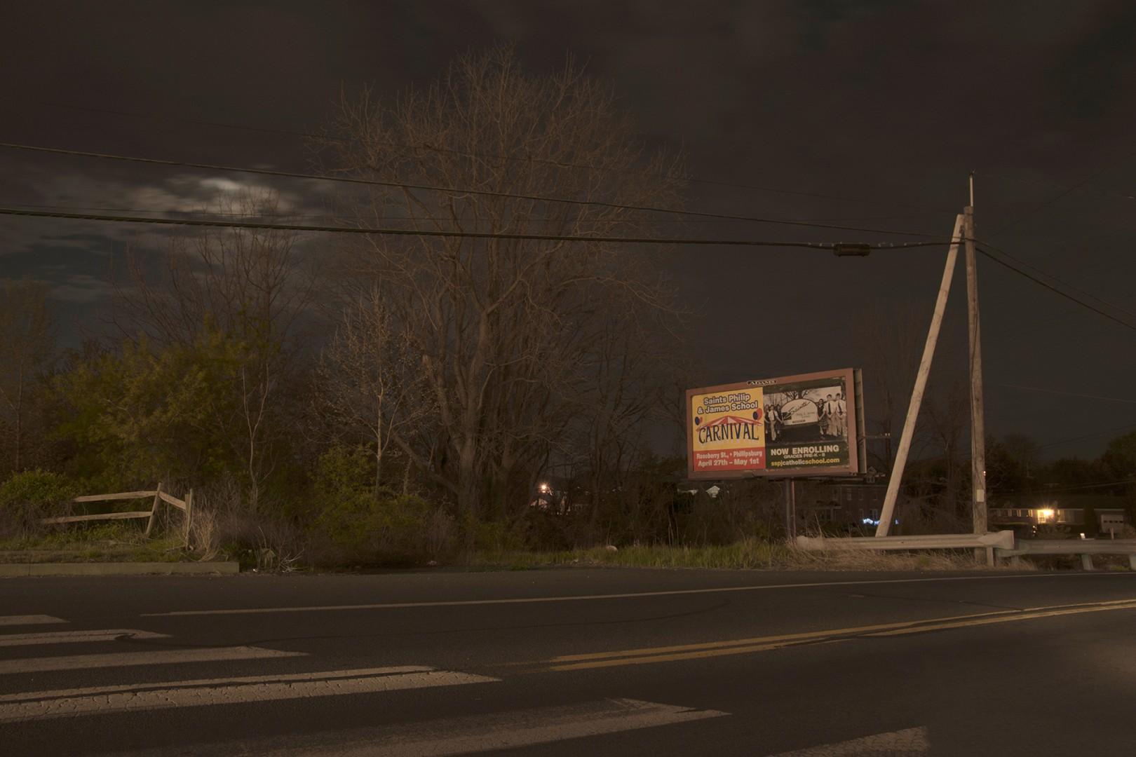 Billboard in Easton Pennsylvania