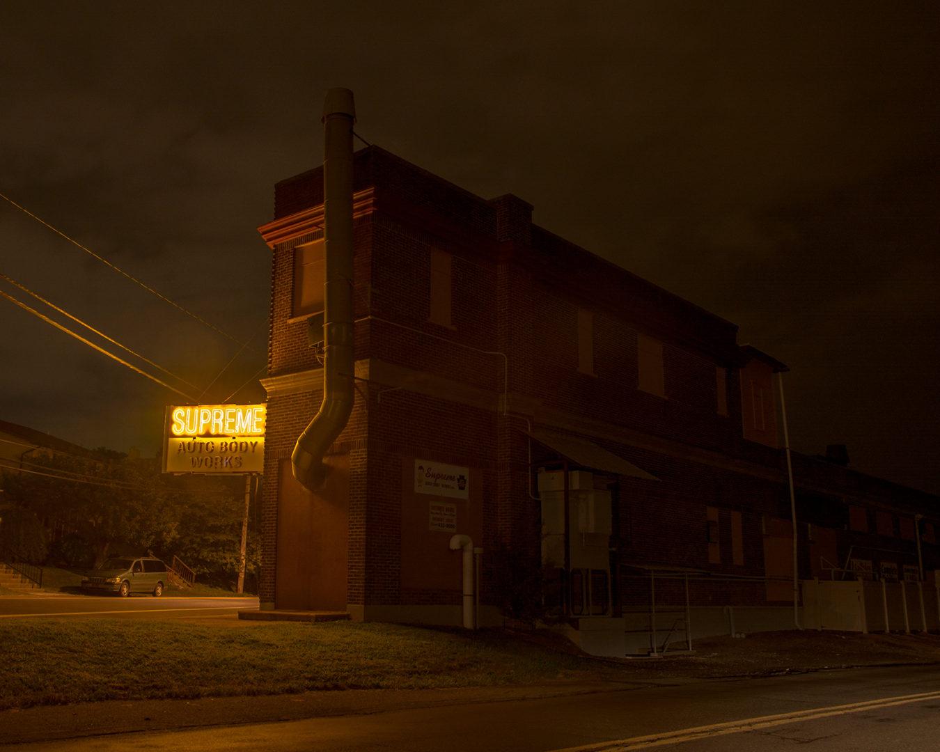A body shop in Allentown
