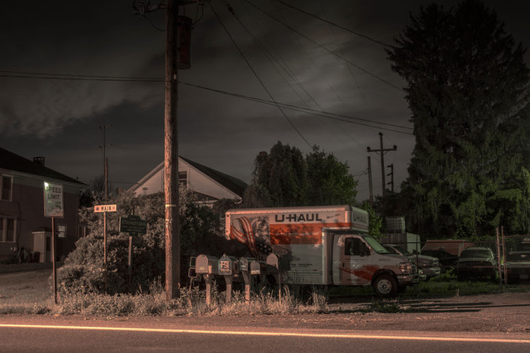 Midnight Moonlight Uhaul