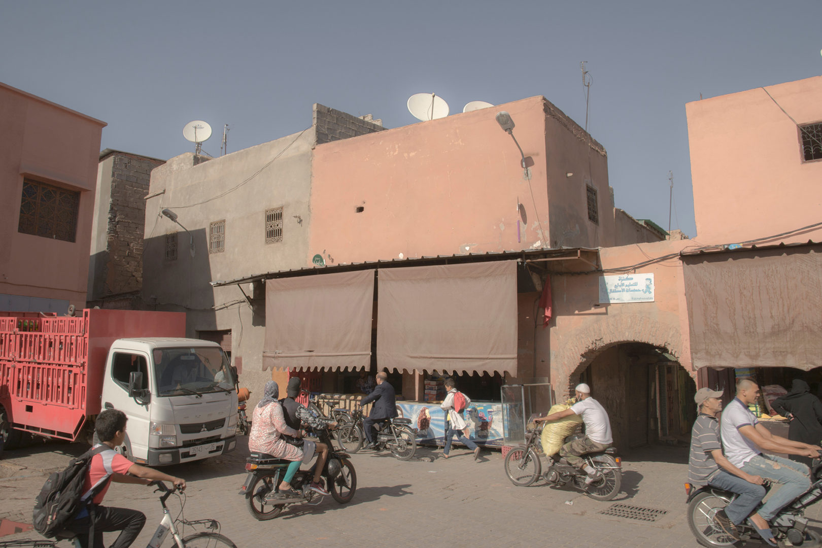 A corner in Marrakech