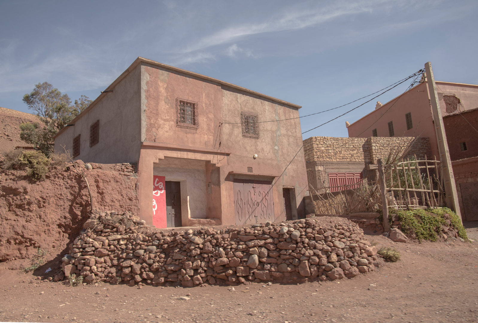 A country house in the Sahara region of Morocco
