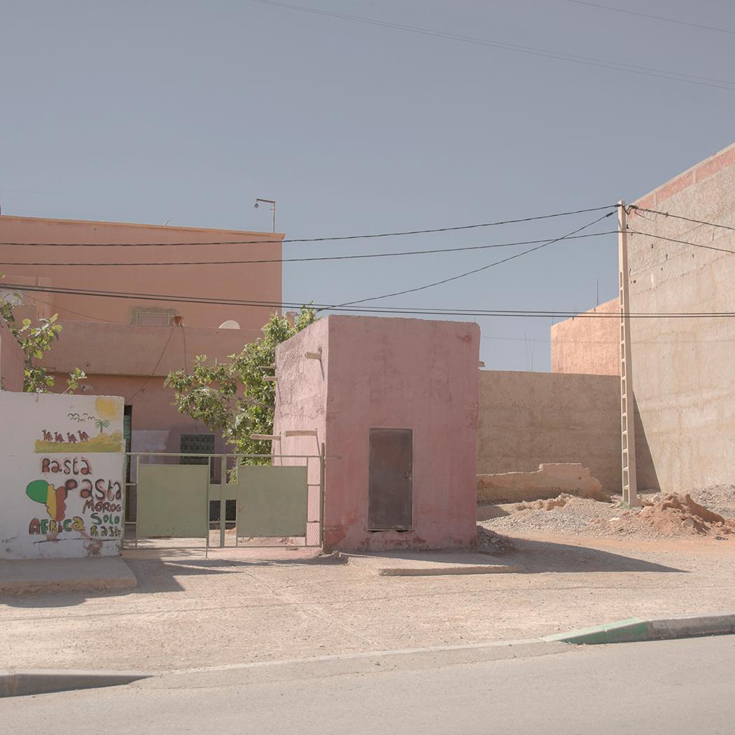 A pasta restaurant in Morocco