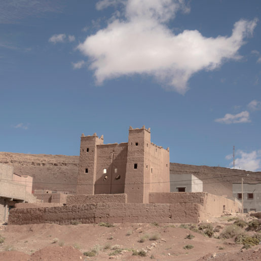 My Kasbah and a Cloud