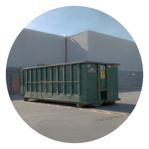 A Green Container