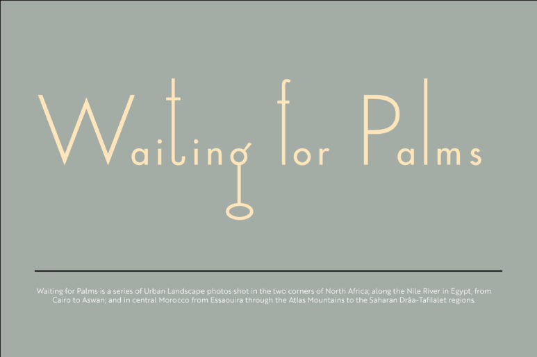 Waiting for Palms Webpage