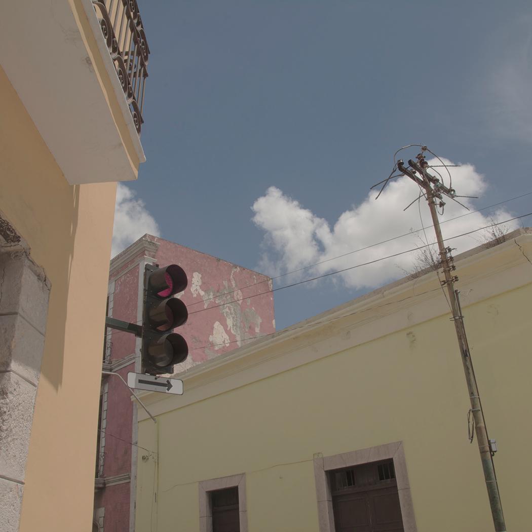 Merida Mexico - Stop Light