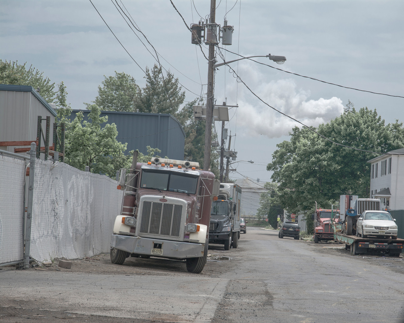 Trucks in the Alley