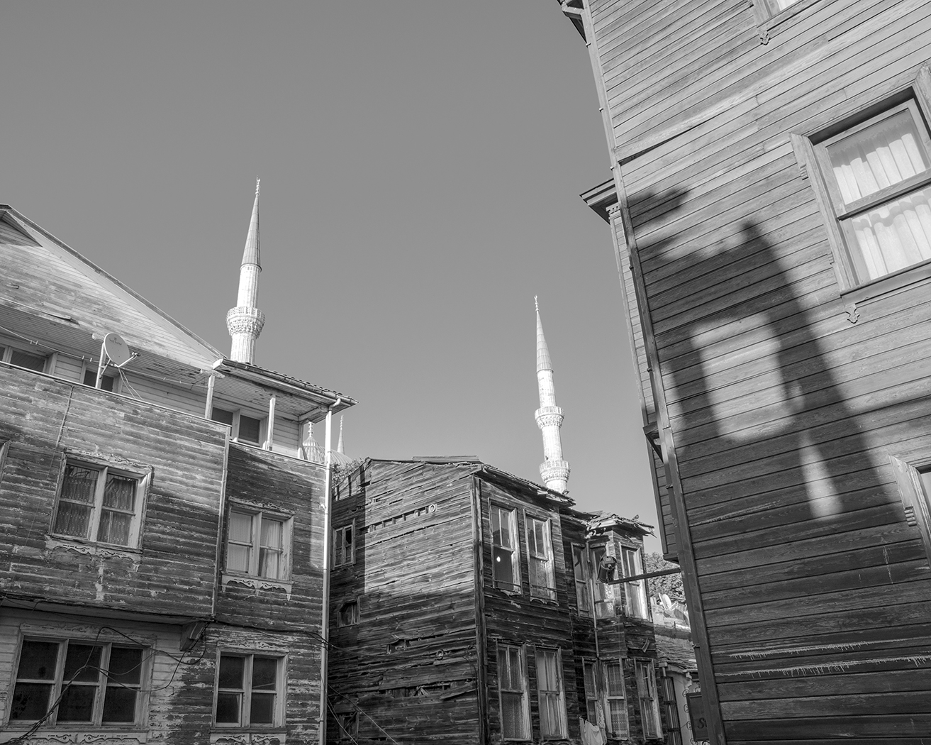 Alleys and Minarets in Istanbul