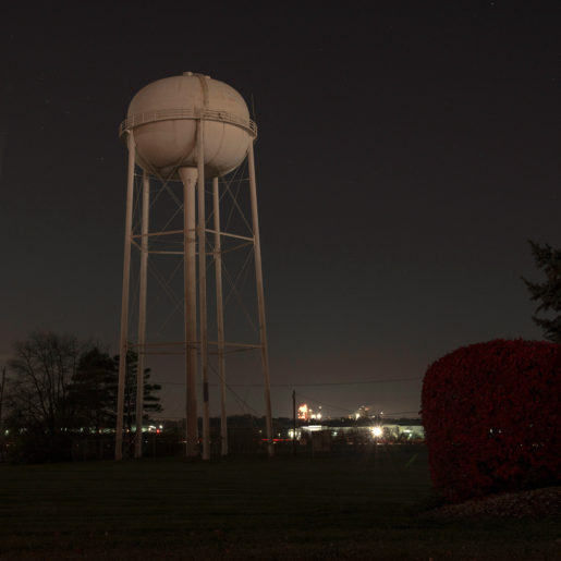Water Tower - Red Bush