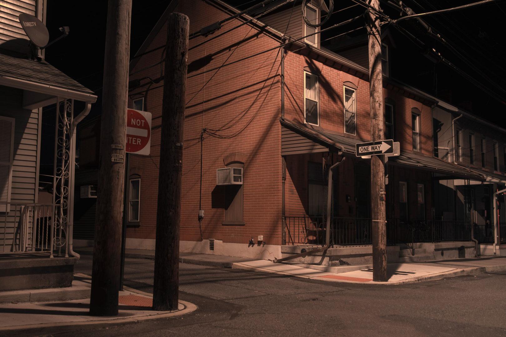 Alley in Emmaus Pennsylvania