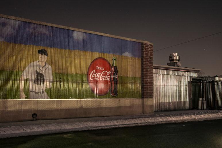 Behind Coca-Cola Stadium